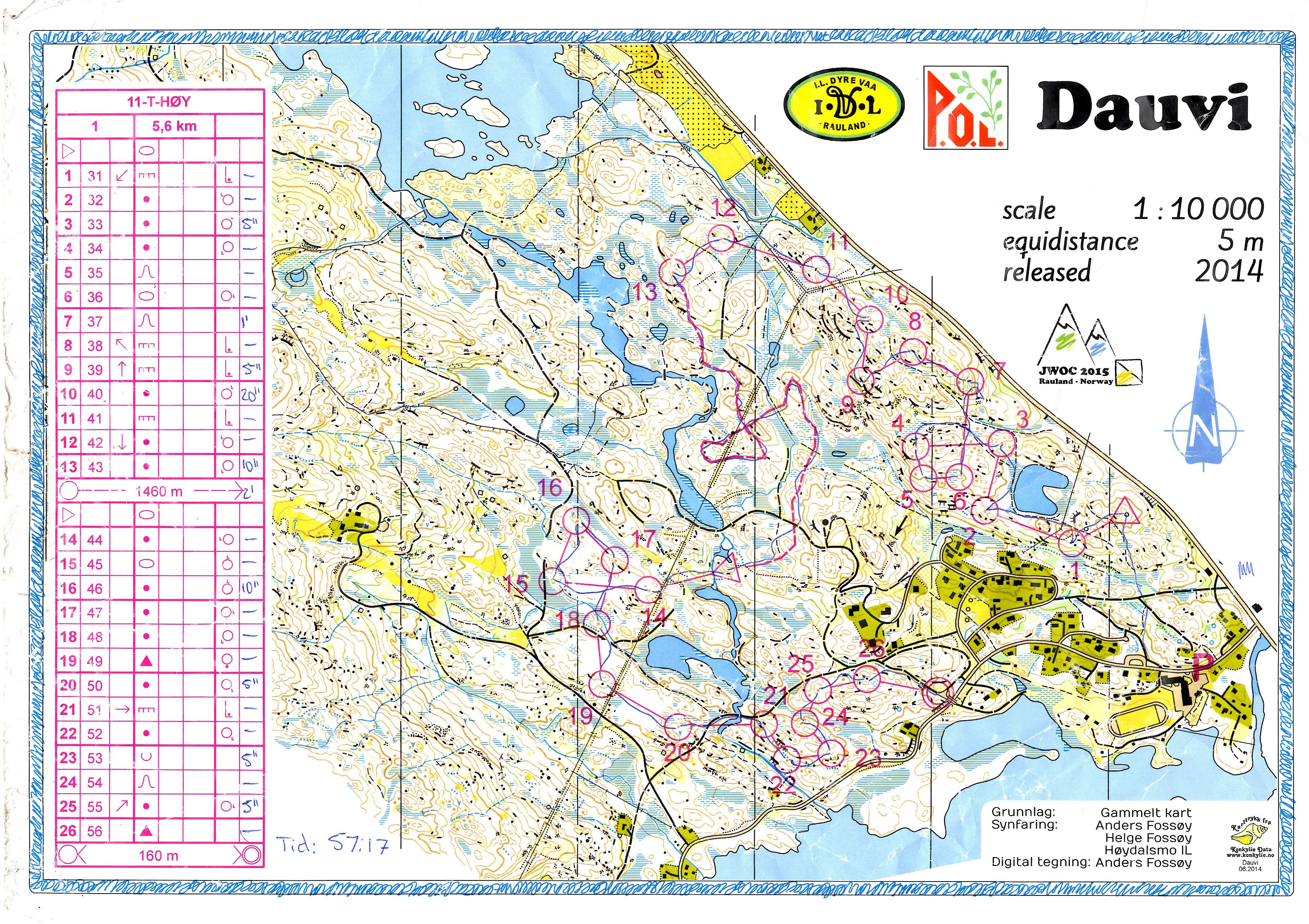 Norge, Pass #3 (2014-08-13)